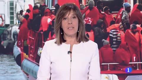 Doce migrantes muertos y otros once desaparecidos en un rescate en el mar de Alborán