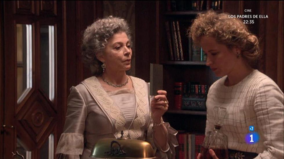 Seis Hermanas - Dolores descubre a Diana husmeando en el despacho de Rodolfo