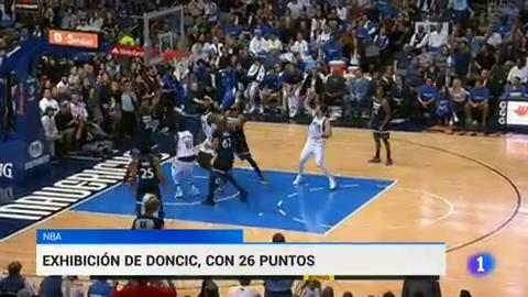 Doncic se luce en su segundo partido en la NBA
