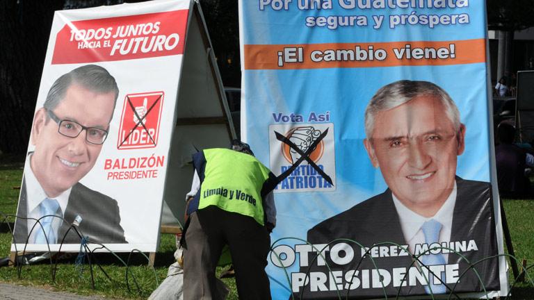 Dos candidatos de derecha se disputan la presidencia de Guatemala