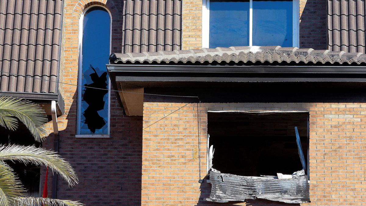 Dos muertos en el incendio de una vivienda en El Casar, Guadalajara