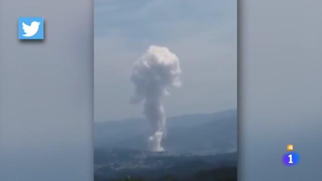 Dos muertos en Tui tras la explosión de un almacen pirotécnico ilegal