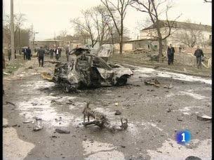 Ver vídeo  'Dos nuevos ataques en la conflictiva región del  Cáucaso'