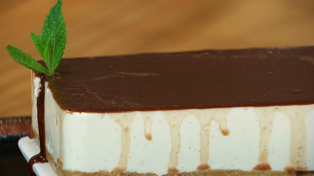 Torres en la cocina - Dulce de queso con tofe de chocolate
