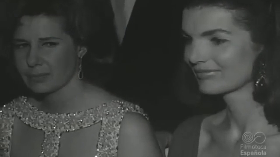 La duquesa de Alba, Jackie Kennedy y Grace Kelly (1966)
