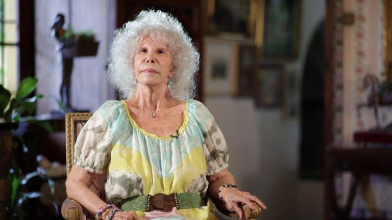 La duquesa de Alba en Entrevista a la carta