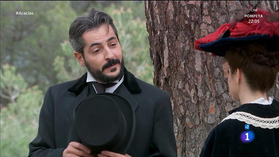 Acacias 38 - Durán le cuenta a Trini que Ramón es prestamista