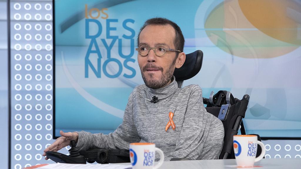 """Echenique desmiente que la marca 'Marea Andaluza' contravenga las directrices de Podemos: """"Teresa Rodríguez ya me había avisado"""""""