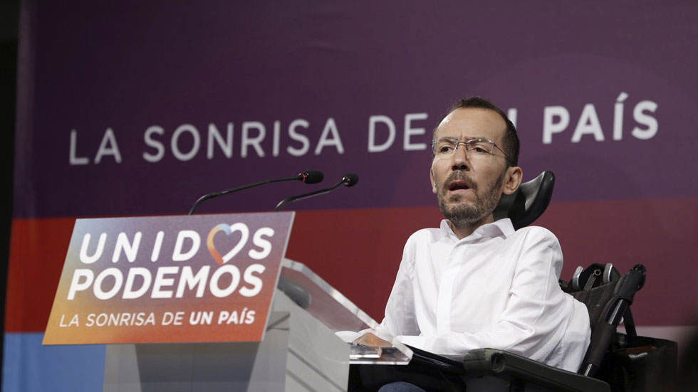 "Echenique no descarta actuar con contundencia ante conflictos internos de Podemos si falla el ""diálogo"""