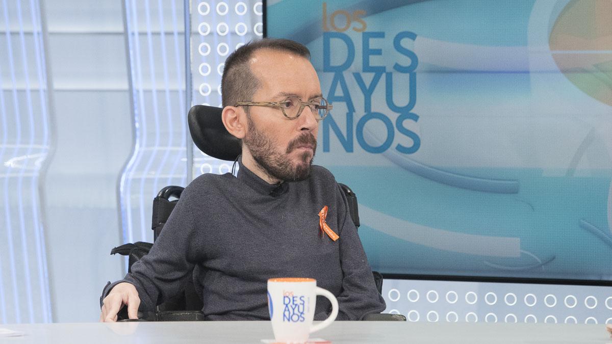 """Echenique: """"La única solución en Cataluña es que se abandone la política de bloques"""""""