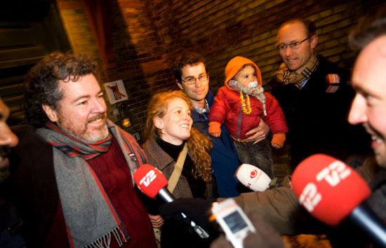 El director de Greenpeace en España y otros tres ecologistas salen de la cárcel