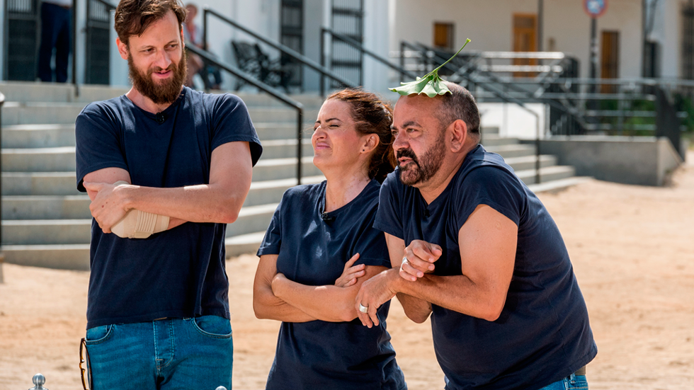 MasterChef Celebrity 2 - Edu, Silvia y Corbacho imitan a nuestros jueces