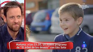 La mañana - Edu Soto, feliz de trabajar con niños en 'El árbol de los deseos'