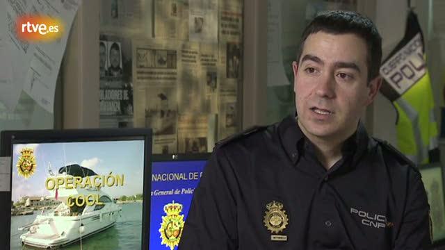 Eduardo Casas, oficial de policia