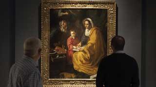 """El cuadro """"La educación de la Virgen"""" de Velázquez vuelve a Sevilla"""