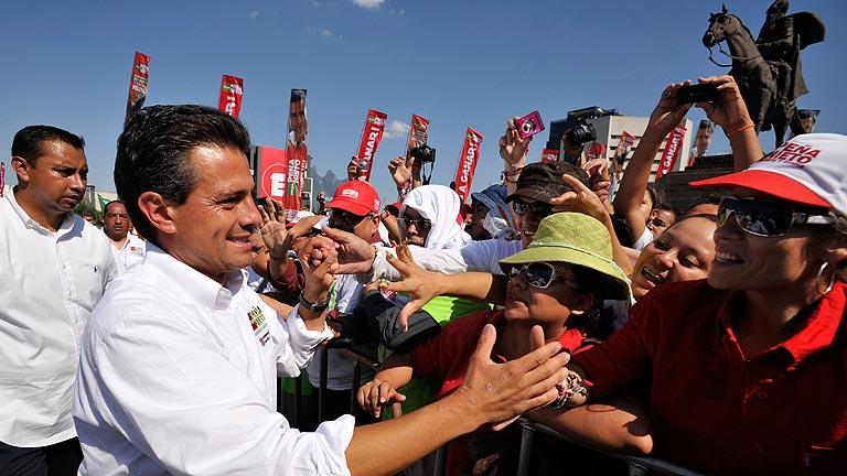 Los mexicanos votan hoy un presidente y más de 2.000 cargos públicos