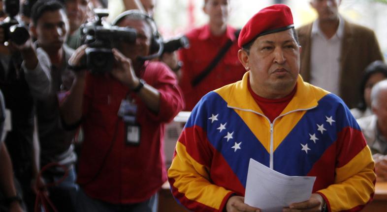 Hugo Chávez presentará su candidatura para las presidenciales de octubre