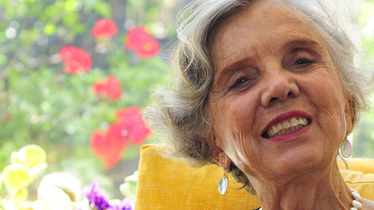 La escritora y periodista mexicana Elena Poniatowska, Premio Cervantes 2013