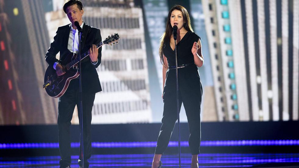 "Eurovisión 2015 - Estonia: Elina Born & Stig Rästa - ""Goodbye to yesterday"""