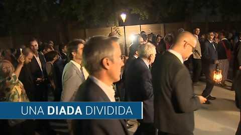 Los desayunos de TVE - Elsa Artadi, consejera de Presidencia catalana, e Inés Arrimadas, pta. de Ciudadanos en Cataluña