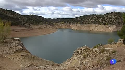 El embalse de El Arquillo, en Teruel, se encuentra al 19% de su capacidad a causa de la sequía