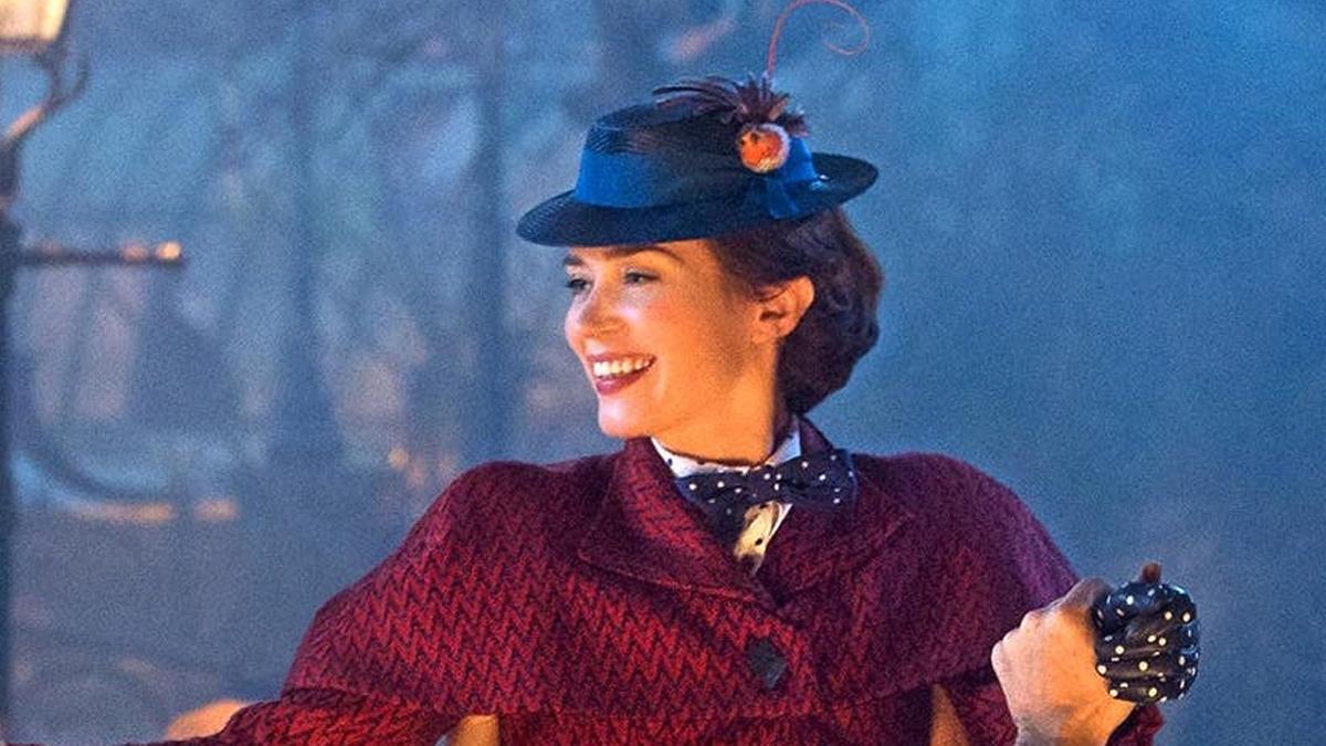 Emily Blunt es la nueva Mary Poppins
