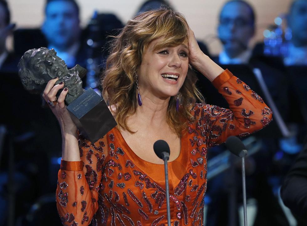 Emma Suárez, premio Goya a la mejor actriz protagonista por 'Julieta'