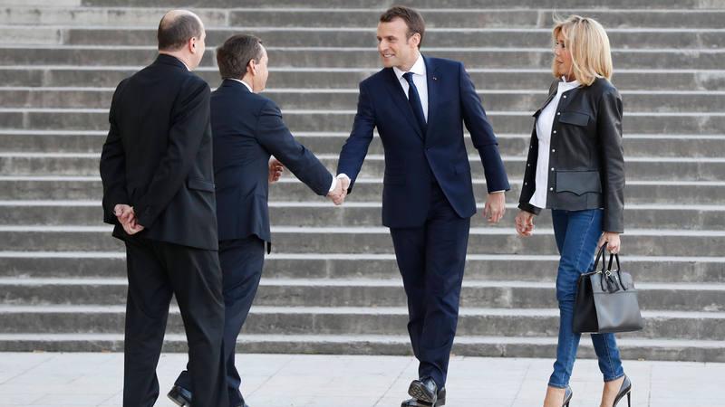 Emmanuel Macron concede una entrevista a BFM TV