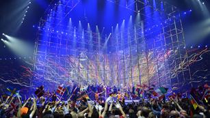 """Eurovisión 2014 - Emmelie de Forest canta con todos los participantes de Eurovisión """"Only Teardrops"""""""