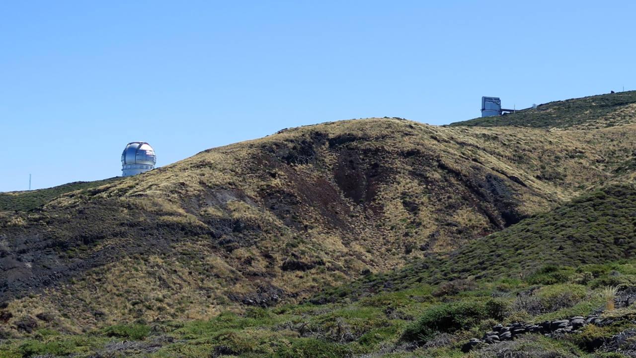 Emplazamiento previsto para el TMT en La Palma. Carlos Martínez Roger (IAC)