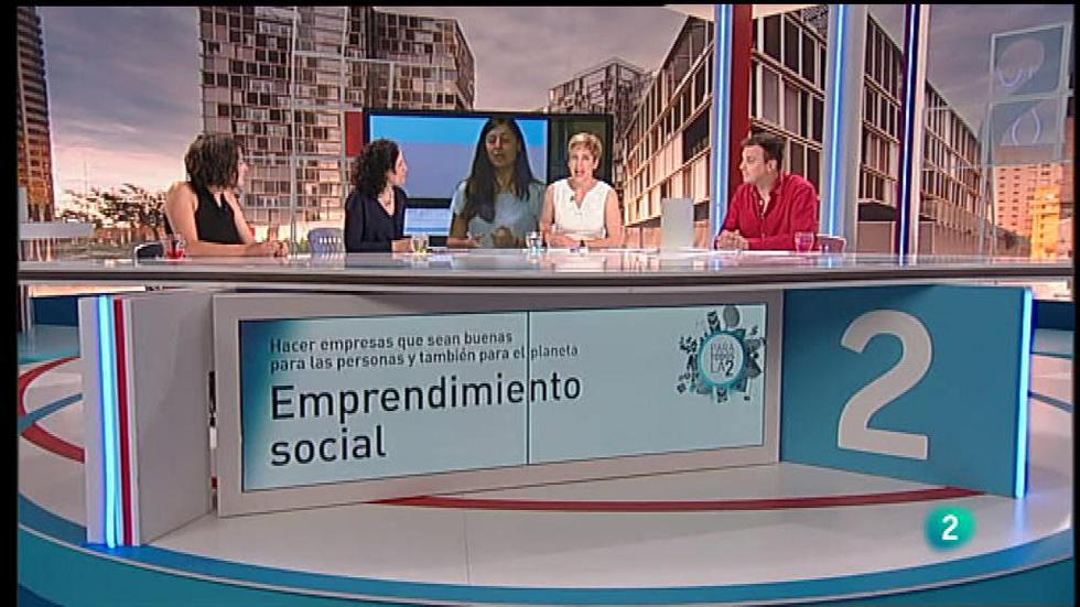 Para Todos La 2 - Coloquio - Emprendimiento social