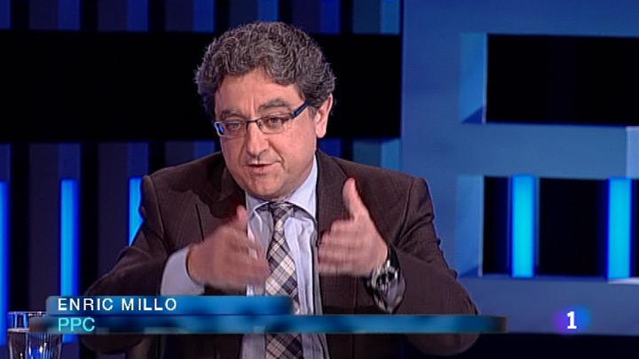 El Debat de la 1 - Entrevista a Enric Millo