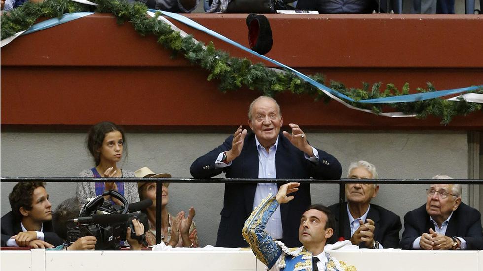 Tendido Cero - Enrique Ponce brinda un toro al rey Juan Carlos