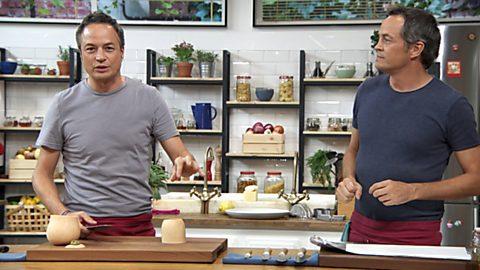 Torres en la cocina - Ensalada de calabaza y estofado de ternera