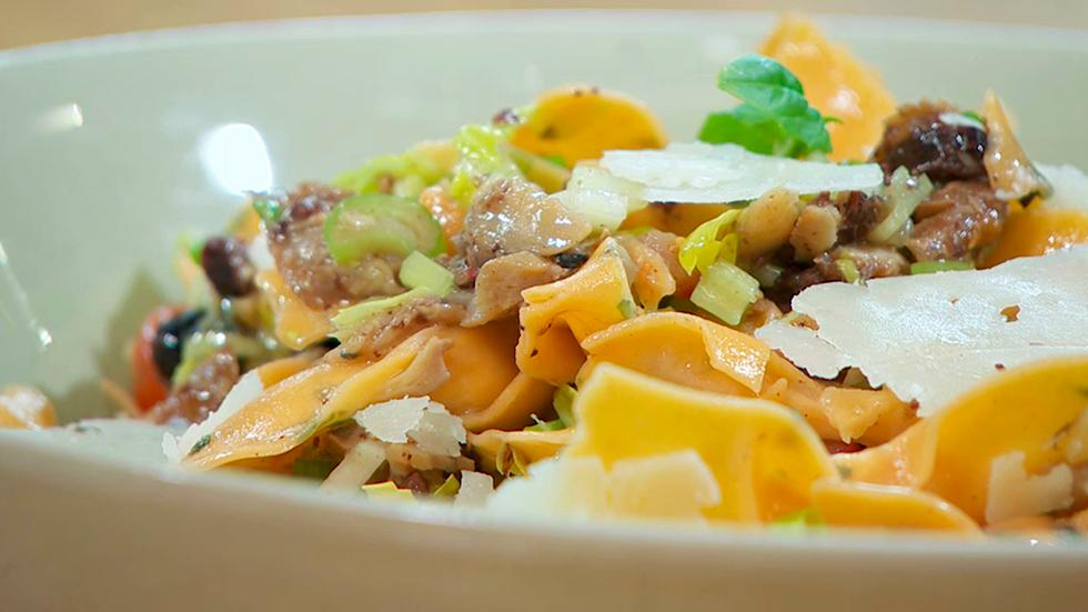 Torres en la cocina - Ensalada de pasta con salazones