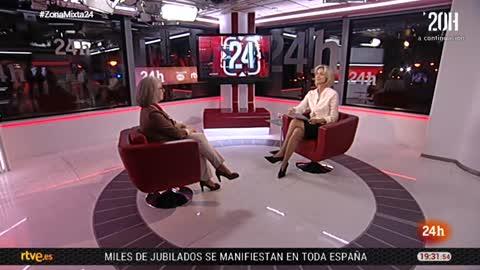 La tarde en 24 horas - Entrevista - 01/03/18