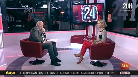 La tarde en 24 horas - Entrevista - 04/12/17