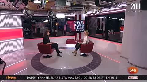 La tarde en 24 horas - Entrevista  - 05/12/17