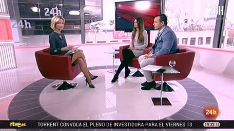 La tarde en 24 horas - Entrevista - 09/04/18
