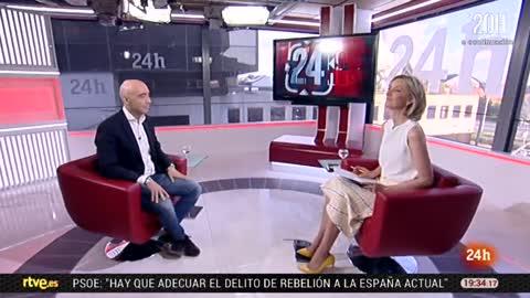 La tarde en 24 horas - Entrevista - 16/05/18