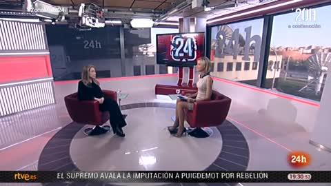 La tarde en 24 horas - Entrevista - 17/04/18