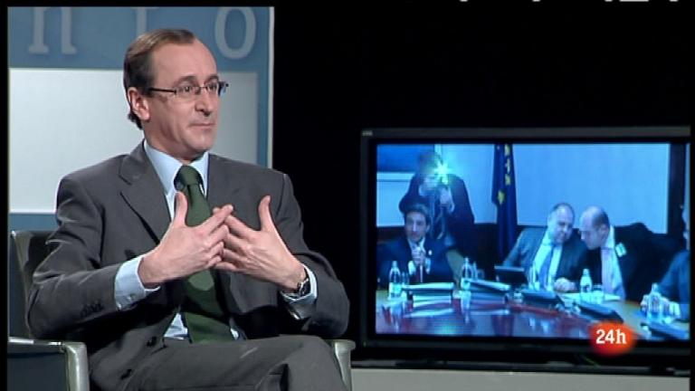 Parlamento - Entrevista a Alfonso Alonso, portavoz del PP en el Congreso  - 03/03/12