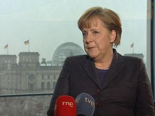 Ver vídeo 'Entrevista a Angela Merkel en exclusiva para RTVE'