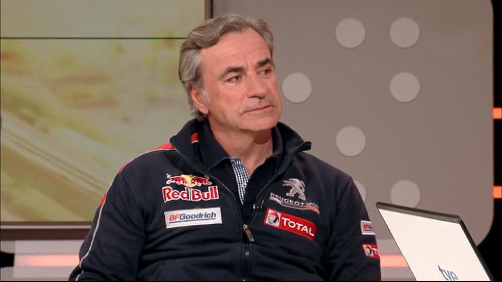 Rally Dakar 2018 - Entrevista a Carlos Sainz