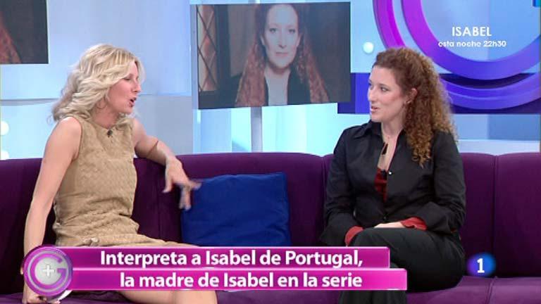 """Más Gente - Clara Sanchís: """"Isabel de Portugal tenía momentos de locura y momentos de lucidez"""""""