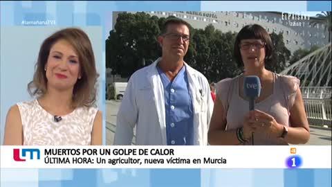 La Mañana - Entrevista en directo al médico que atendió a la primera víctima de la ola de calor