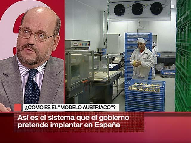 Noche 24 - El embajador de Austria en España explica el modelo laboral de su país