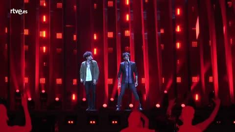 Eurovisión 2018 - Entrevista a Ermal Meta y Fabrizio Moro, representantes de Italia