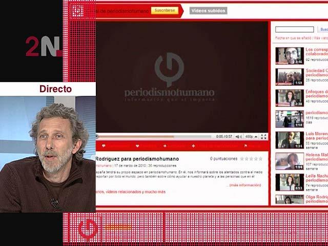 La 2 Noticias entrevista a Javier Bauluz