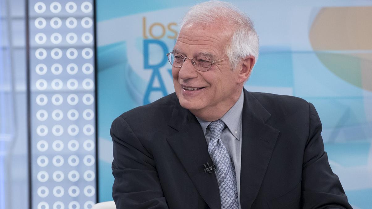 Entrevista a Josep Borrell, ministro de Exteriores, en Los desayunos de TVE